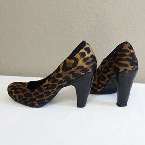 Kenneth Cole Reaction Shoes - Kenneth Cole Reaction Leopard Cheetah Heel Shoe